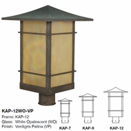 Arroyo Craftsman KAP Katsura Asian Outdoor Post Light Mount