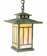 Arroyo Craftsman KH-9 Kennebec Craftsman Outdoor Hanging Pendant - 8.75 inches wide