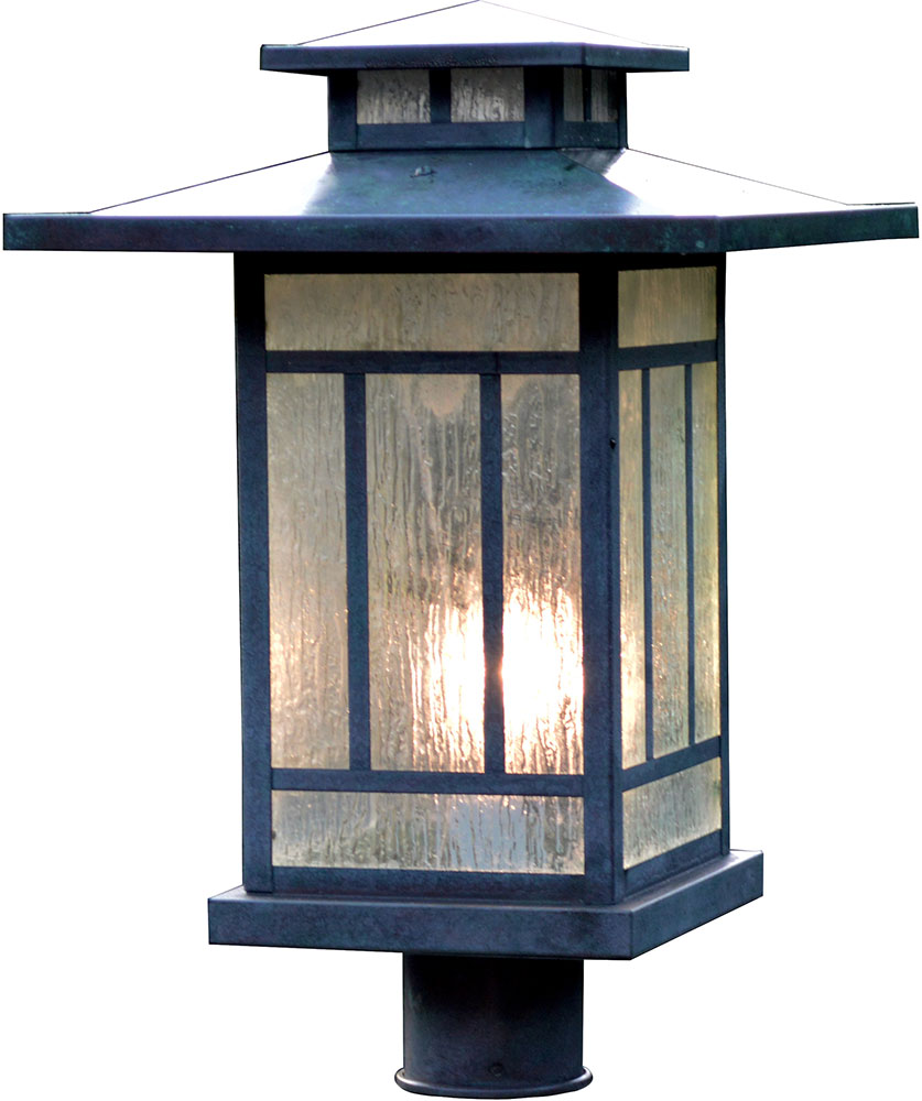 Arroyo Craftsman Kp 12 Kennebec Outdoor Light Post 15 625 Inches Tall