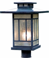 Arroyo Craftsman KP-12 Kennebec Craftsman Outdoor Light Post - 15.625 inches tall