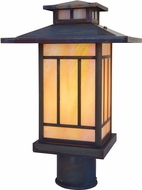 Arroyo Craftsman KP-9 Kennebec Craftsman Outdoor Light Post - 11.25 inches tall