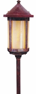 Arroyo Craftsman LV12-B6L Berkeley Outdoor Low Voltage Landscape Light - 23.125 inches tall