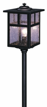 Arroyo Craftsman LV12-M5 Mission Craftsman Low Voltage Landscape Light - 18.375 inches tall