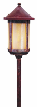 Arroyo Craftsman LV18-B6 Berkeley Outdoor Low Voltage Landscape Light - 27.25 inches tall