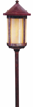 Arroyo Craftsman LV24-B6L Berkeley Outdoor Low Voltage Landscape Light - 35.125 inches tall