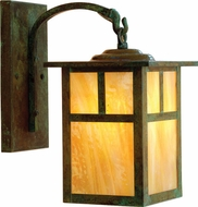 Arroyo Craftsman MB-15 Mission Craftsman Outdoor Wall Sconce - 24.875 inches tall