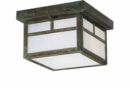 Arroyo Craftsman MCM-7 Mission Craftsman Outdoor Flush-Mount Ceiling Fixture - 7 inches wide