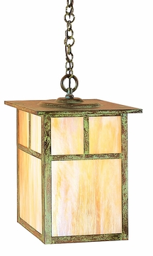 Arroyo Craftsman MH-15 Mission Craftsman Outdoor Hanging Pendant Light - 15 inches wide