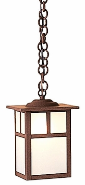 Arroyo Craftsman MH-6 Mission Craftsman Outdoor Hanging Pendant Light - 6 inches wide