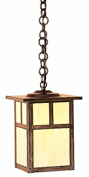 Arroyo Craftsman MH-7 Mission Craftsman Outdoor Hanging Pendant Light - 7.25 inches wide