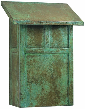 Arroyo Craftsman MMB Mission Craftsman Mail Box - 8.375 inches wide