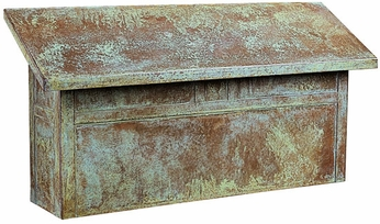 Arroyo Craftsman MMBL Mission Craftsman Mail Box - 17 inches wide