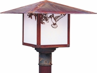 Arroyo Craftsman MP-17 Monterey Craftsman Outdoor Light Post - 17 inches wide