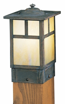 Arroyo Craftsman MPC-5 Mission Craftsman Outdoor Light Post - 5 inches wide