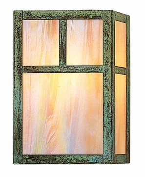 Arroyo Craftsman MS-10 Mission Craftsman Wall Sconce - 10 inches tall