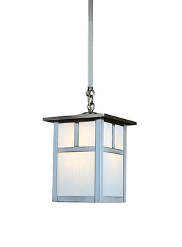 Arroyo Craftsman MSH-6 Mission Craftsman Outdoor Hanging Pendant Light - 6 inches wide