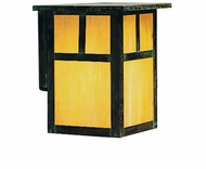 Arroyo Craftsman MW-7 Mission Craftsman Outdoor Wall Sconce - 8.5 inches tall