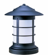 Arroyo Craftsman NC-14 Newport Nautical Outdoor Pier Mount - 16.75 inches tall