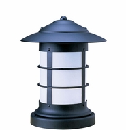 Arroyo Craftsman NC-9 Newport Nautical Outdoor Pier Mount - 11.625 inches tall