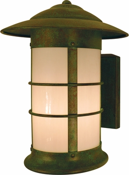 Arroyo Craftsman NS-9L Newport Nautical Outdoor Long Body Wall Sconce - 12.125 inches tall