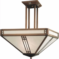 Arroyo Craftsman PCH-36 Prairie Craftsman Pendant Light - 36 inches tall