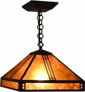 Arroyo Craftsman PH-12 Prairie Craftsman Pendant Light - 43.875 inches tall