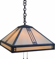 Arroyo Craftsman PH-18 Prairie Craftsman Pendant Light - 48 inches tall