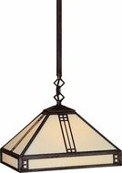 Arroyo Craftsman PSH-12 Prairie Craftsman Pendant Light - 38.5 inches tall