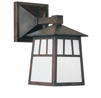 Arroyo Craftsman RB-6W Raymond Craftsman Outdoor Wall Sconce - 10.375 inches tall