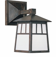 Arroyo Craftsman RB-8W Raymond Craftsman Outdoor Wall Sconce - 14.75 inches tall