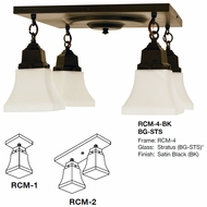 Arroyo Craftsman RCM Ruskin Ceiling Light
