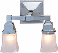 Arroyo Craftsman RS-2 Ruskin 2-Light Bathroom Lighting