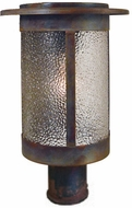 Arroyo Craftsman SAP-9 Santorini Outdoor Lamp Post Light Mount