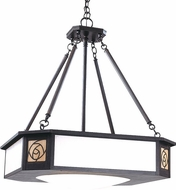 Arroyo Craftsman SCCH-21 Saint Clair Craftsman Pendant Light