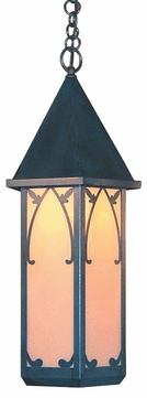 Arroyo Craftsman SGH-10 Saint George Craftsman Outdoor Hanging Pendant Light - 10 inches wide