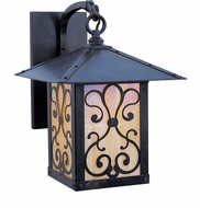 Arroyo Craftsman TRB-12AS Timber Ridge 12 inch Outdoor Wall Sconce with Ashbury Filigree