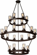 Artcraft AC10004 Menlo Park Modern Dark Chocolate Lighting Chandelier