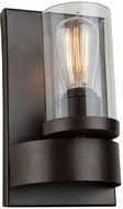 Artcraft AC10007 Menlo Park Contemporary Dark Chocolate Wall Sconce
