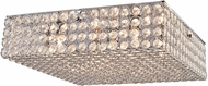 Artcraft AC10085 Gage Park Modern Chrome Halogen Ceiling Light Fixture