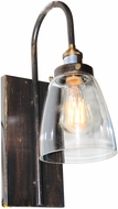 Artcraft AC10164 Greenwich Copper Brown Light Sconce