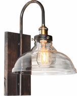 Artcraft AC10174 Greenwich Copper Brown Lamp Sconce
