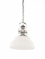 Artcraft AC10240CH Victoriaville Nautical Chrome Hanging Lamp