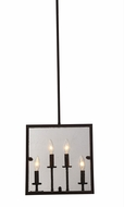 Artcraft AC10302OB Harbor Point Contemporary Oil Rubbed Bronze Pendant Light