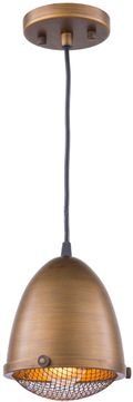 Artcraft AC10310 Retro Loft Bronze 7  Mini Pendant Lighting