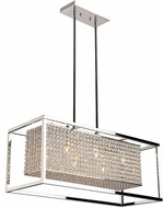 Artcraft AC10326 Vega Stainless Steel Halogen Island Lighting
