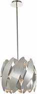 Artcraft AC10371BN 5th Avenue Modern Brushed Nickel & Chrome Halogen Drop Lighting