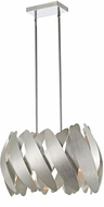 Artcraft AC10372BN 5th Avenue Contemporary Brushed Nickel & Chrome Halogen Mini Drop Ceiling Lighting