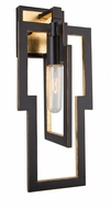 Artcraft AC10392 Capetown Contemporary Oil Rubbed Bronze Wall Sconce