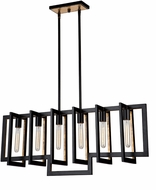 Artcraft AC10396 Capetown Modern Oil Rubbed Bronze Island Lighting