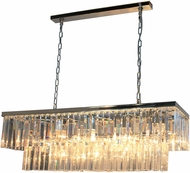 Artcraft AC10407CH El Dorado Chrome Kitchen Island Light Fixture